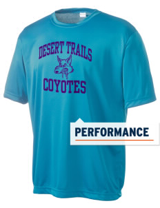 Desert Trails Elementary School Coyotes Men's Competitor Performance T-Shirt