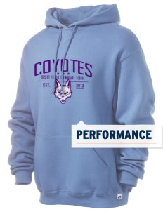 Desert Trails Elementary School Coyotes Russell Men's Dri-Power Hooded Sweatshirt