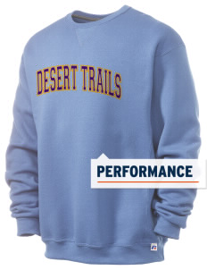 Desert Trails Elementary School Coyotes  Russell Men's Dri-Power Crewneck Sweatshirt
