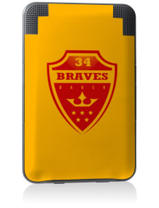 Baker Elementary School Braves Kindle Keyboard 3G Skin