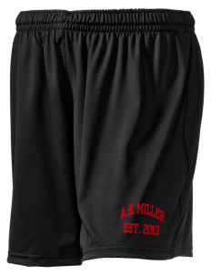 "A.B. Miller High School Rebels Holloway Women's Performance Shorts, 5"" Inseam"