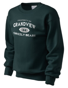 Grandview Elementary School Grizzly Bears Kid's Crewneck Sweatshirt