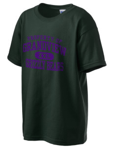 Grandview Elementary School Grizzly Bears Kid's 6.1 oz Ultra Cotton T-Shirt