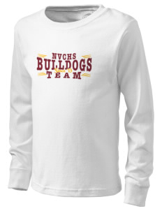 North Valley Continuation High School Bulldogs  Kid's Long Sleeve T-Shirt