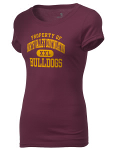 North Valley Continuation High School Bulldogs Holloway Women's Groove T-Shirt
