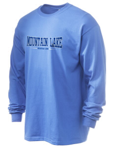 Mountain Lake High School Mountain Lions 6.1 oz Ultra Cotton Long-Sleeve T-Shirt