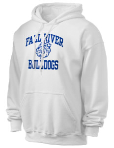 Fall River Senior High School Bulldogs Ultra Blend 50/50 Hooded Sweatshirt