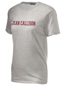 Jean Callison Elementary School Cougars Embroidered Alternative Unisex Eco Heather T-Shirt