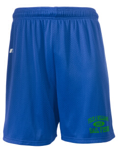 "Felix A Williams Elementary School Sail Fish  Russell Men's Mesh Shorts, 7"" Inseam"