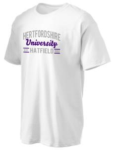 University of Hertfordshire University Hanes Men's 6.1oz Tagless T-shirt