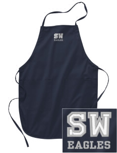 Southeast Webster Middle School Eagles Embroidered Full Length Apron