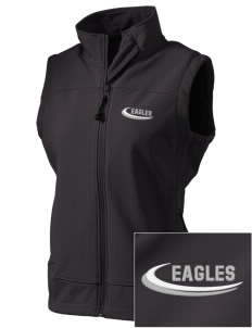 Southeast Webster Middle School Eagles  Embroidered Women's Glacier Soft Shell Vest