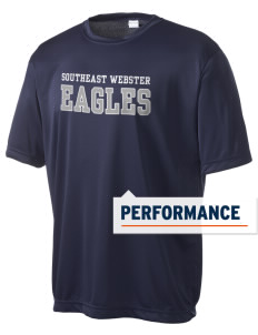 Southeast Webster Middle School Eagles Men's Competitor Performance T-Shirt
