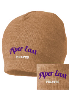 Piper East Elementary School Pirates Embroidered Beanie