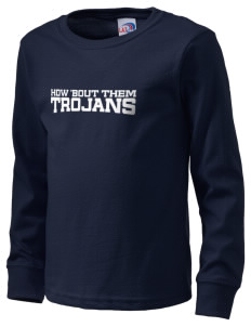 Fadden McKeown Chambliss Elementary Trojans  Kid's Long Sleeve T-Shirt