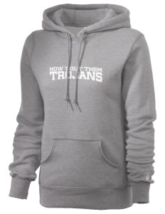 Fadden McKeown Chambliss Elementary Trojans Russell Women's Pro Cotton Fleece Hooded Sweatshirt
