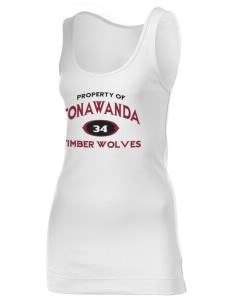 Tonawanda Junior High School Timber Wolves Juniors' 1x1 Tank