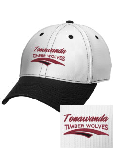 Tonawanda Junior High School Timber Wolves Embroidered New Era Snapback Performance Mesh Contrast Bill Cap