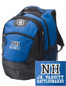 Nichols Hills Elementary School Rattlesnakes Embroidered OGIO Rogue Backpack