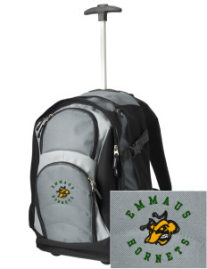 Emmaus High School Hornets Embroidered Wheeled Adjustable Backpack