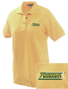 Emmaus High School Hornets Embroidered Women's Pique Polo