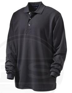 Emmaus High School Hornets Embroidered Men's Rapid Dry Long Sleeve Polo
