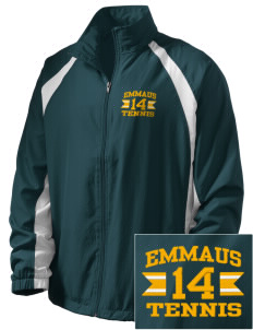 Emmaus High School Hornets  Embroidered Men's Full Zip Warm Up Jacket
