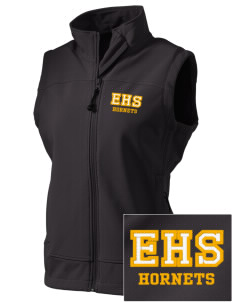 Emmaus High School Hornets  Embroidered Women's Glacier Soft Shell Vest