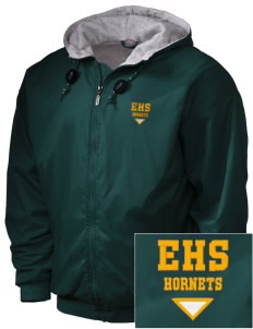 Emmaus High School Hornets Embroidered Holloway Men's Hooded Jacket