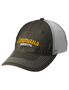 Emmaus High School Hornets Embroidered Mesh Back Cap
