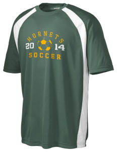 Emmaus High School Hornets Men's Dry Zone Colorblock T-Shirt