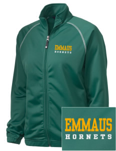 Emmaus High School Hornets Embroidered Holloway Women's Attitude Warmup Jacket