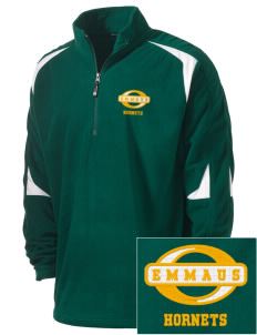 Emmaus High School Hornets Holloway Embroidered Men's Torch Fleece 1/4-Zip Warmup Jacket