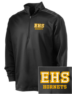Emmaus High School Hornets Embroidered Nike Men's Golf Dri-Fit 1/2 Zip