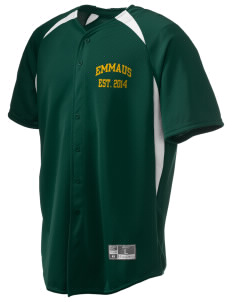 Emmaus High School Hornets Holloway Men's Octane Full Button Jersey