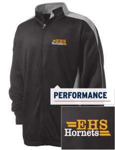 Emmaus High School Hornets Embroidered Russell Men's Fusion Tech Fleece Full Zip Jacket