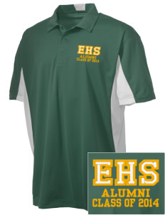 Emmaus High School Hornets Embroidered Men's Side Blocked Micro Pique Polo