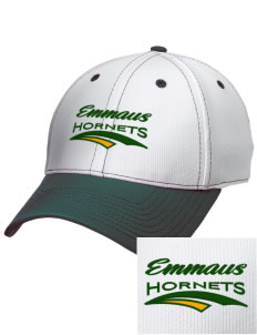 Emmaus High School Hornets Embroidered New Era Snapback Performance Mesh Contrast Bill Cap