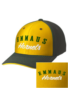 Emmaus High School Hornets Embroidered M2 Contrast Cap with Puffy 3D Designs