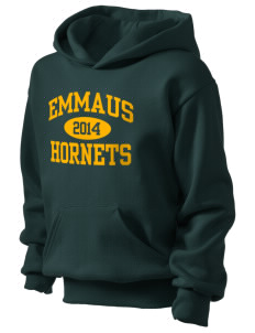 Emmaus High School Hornets Kid's Basic Hooded Sweatshirt