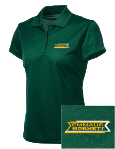 Emmaus High School Hornets adidas Women's ClimaCool Polo