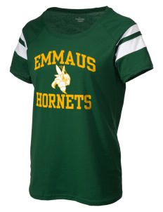 Emmaus High School Hornets Holloway Women's Tribute T-Shirt