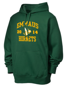 Emmaus High School Hornets Men's Tall Pullover Hooded Sweatshirt
