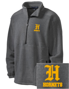 Emmaus High School Hornets Embroidered Men's Wintercept Fleece Quarter-Zip Jacket