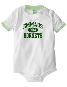 Emmaus High School Hornets Baby One-Piece with Shoulder Snaps