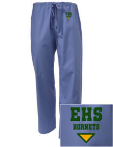 Emmaus High School Hornets Embroidered Scrub Pants
