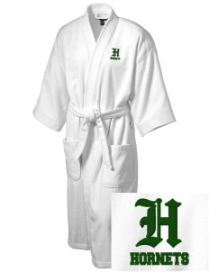 Emmaus High School Hornets Embroidered Terry Velour Robe