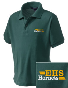 Emmaus High School Hornets Embroidered Kid's Silk Touch Polo
