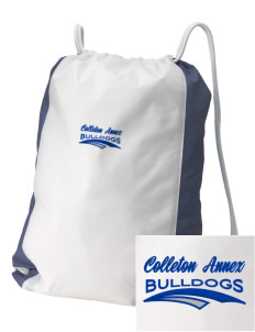 Colleton Middle School Annex Bulldogs Embroidered Holloway Home and Away Cinch Bag