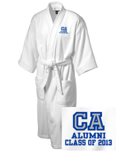 Colleton Middle School Annex Bulldogs Embroidered Terry Velour Robe